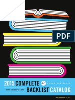 Chronicle Books Complete 2015 Backlist Catalog