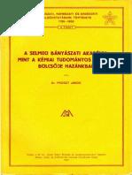 A Selmeci Bányászati Akadémia