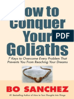 Bo How to Conquer Your Goliath
