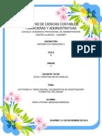 Actividad 04-Tarea Grupal Colaborativa de Investigación Formativa 1ra Unidad-keiko Mendoza Barreno
