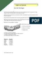 Ejercicios resueltos  geologia