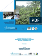TOMO 1.5 Compensaciones por servicios ambientales hídricos en el municipio de Alcalá-Valle de Cauca