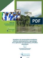 TOMO 2.1 Incentivos a la conservación en territorios colectivos