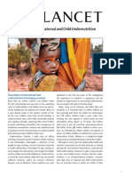 Lancet_MaternalChild Nutrition ExecutiveSummary