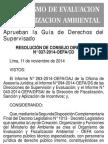 OEFA - APRUEBAN LA GUÍA DE DERECHOS DEL SUPERVISADO