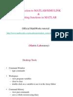 Matlab&Simulink Intro.
