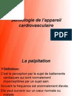 Sémiologie de l'appareil cardiovasculaire