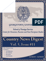 CERES News Digest Vol.5 Week 11-; Nov.10-14