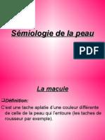 Sémiologie de la peau