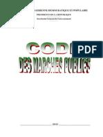 Code Marché Publics Algérien