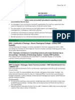 Senior Accountant Fund Accountant In Denver CO Resume Penny Yip