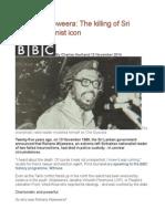 Rohana Wijeweera the Killing of Sri Lanka's Stalinist Icon
