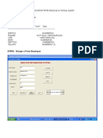 Accessing Database Using Ado Dc(Employee Information System) & Report Generation