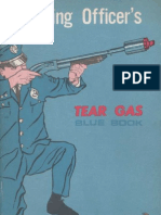 Training Officer´s Tear Gas Blue Book