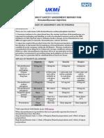 ProductsafetyassessmentforDexamethasone Sept 2014