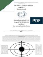 Actividad 3. Estrategias y Argumentos Teóricos Para Mejorar Las Políticas Estatales Orientadas Al Combate de La Criminalidad