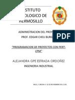 Administracion de Proyectos - Cuestionario