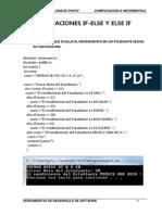 Herramientas de Sotfware Clase4 Estrucctura de Control Switch