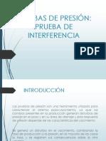 PRUEBA DE PRESIÓN