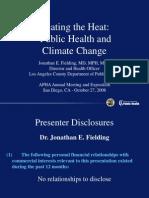 Public Health and ClimateChange