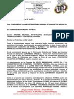 comunicado sutimac a los trabajdores concretos argos s a  nueva firma cct octubre 29 de 2014