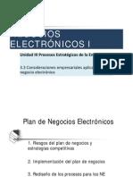 3.3 Consideraciones Empresariales Aplicadas Al Negocio Electronico