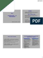 Introducción a la inmunología