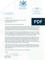 Letter to the FRB