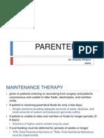 Parenterals Pt.4