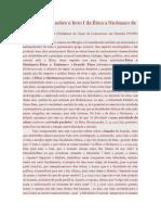 Considerações Sobre o Livro I Da Ética a Nicômaco de Aristóteles