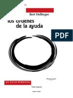 Bert Hellinger - Los Ordenes de La Ayuda