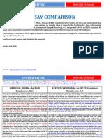 Essay Comparison - IELTS 8.0 vs. 9.0