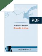 Ariosto Orlando Furioso