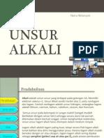 Unsur Alkali