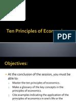 (C) Ten Principles of Economics