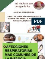 Clase 1.4.- Afecciones Respiratorias Mas Comunes de La Infancia - Lic. Mariela Pecho Tataje