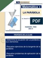 Geometría Analítica - La Parábola - Matemática 2 (1)