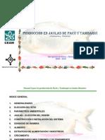 Produccion en Jaulas de Pacu y Tambaqui