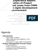 Agile CMMI Project Management