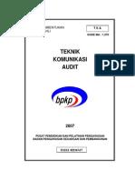 Teknik Komunikasi Audit
