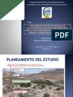 DIAPOSITIVAS de TESIS-Implem. de Un Sist. de Agua Potable Con Aguas Subterraneas Para La Localidad de Mayocc