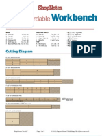 Workbench Cutting Diagram