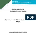 Unidad1.Fundamentos de La Estructura Socioeconómica de México 100114