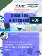 Presentacion de Dosaje de Bilirubina