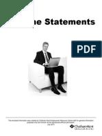 Resume Statements