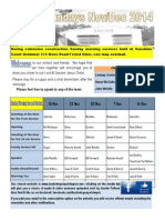 Newsletter Broadsheet 2014 Nov 16