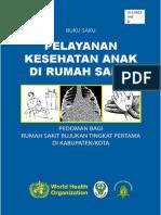Buku Saku - Pelayanan Kesehatan Anak Di Rumah Sakit
