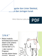 Analisis Angular Dan Linier Skeletal, Dental Dan