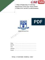 Dbms Lab Manual 11