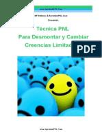 Tecnica PNL Para Cambiar Creencias- AprenderPNL